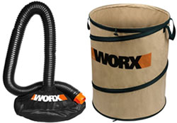 worx wg505 trivac collection system